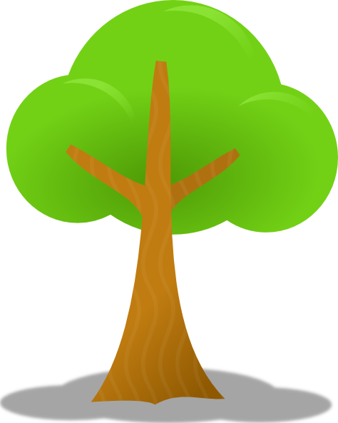 Tree Clip Art At Clker Com   Vector Clip Art Online Royalty Free