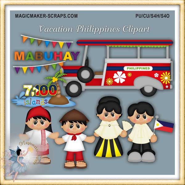 Vacation   Philippines Clipart Philippines Philippines Clipart