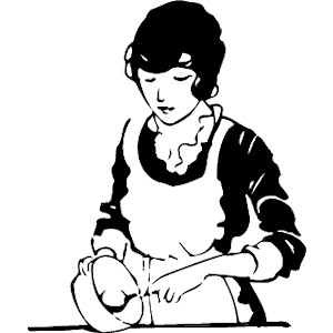 Woman Baking Clipart Cliparts Of Woman Baking Free Download  Wmf Eps