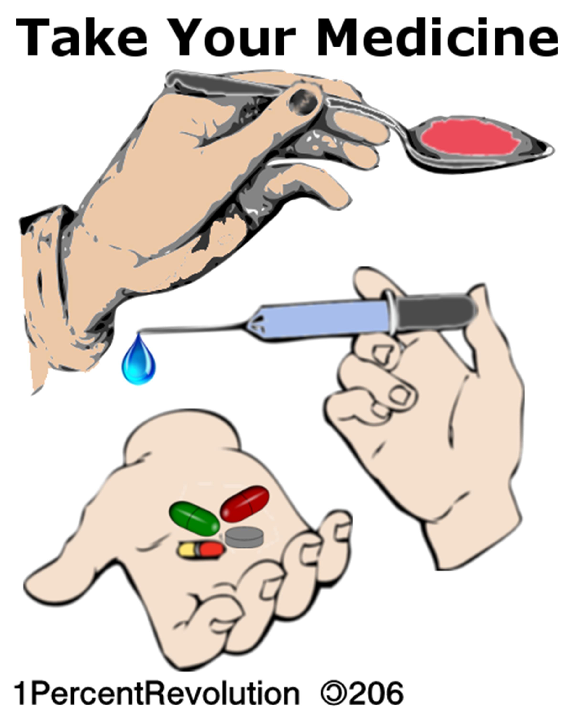 Medicine Administration Clip Art
