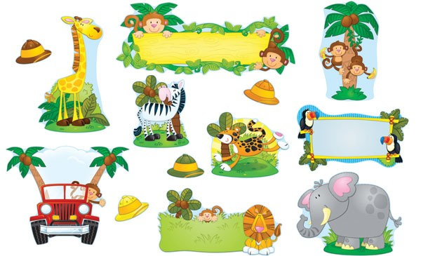 Back   Gallery For   Bamboo Sign Clip Art Jungle Safari Vbs