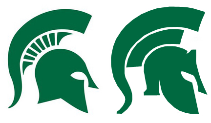 Fan Reaction  New Msu Logo Draws Harsh Reaction Little Praise From