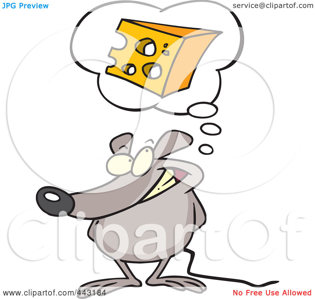 Hush Clipart Royalty Free Rf Clip Art Illustration Of A Cartoon Mouse