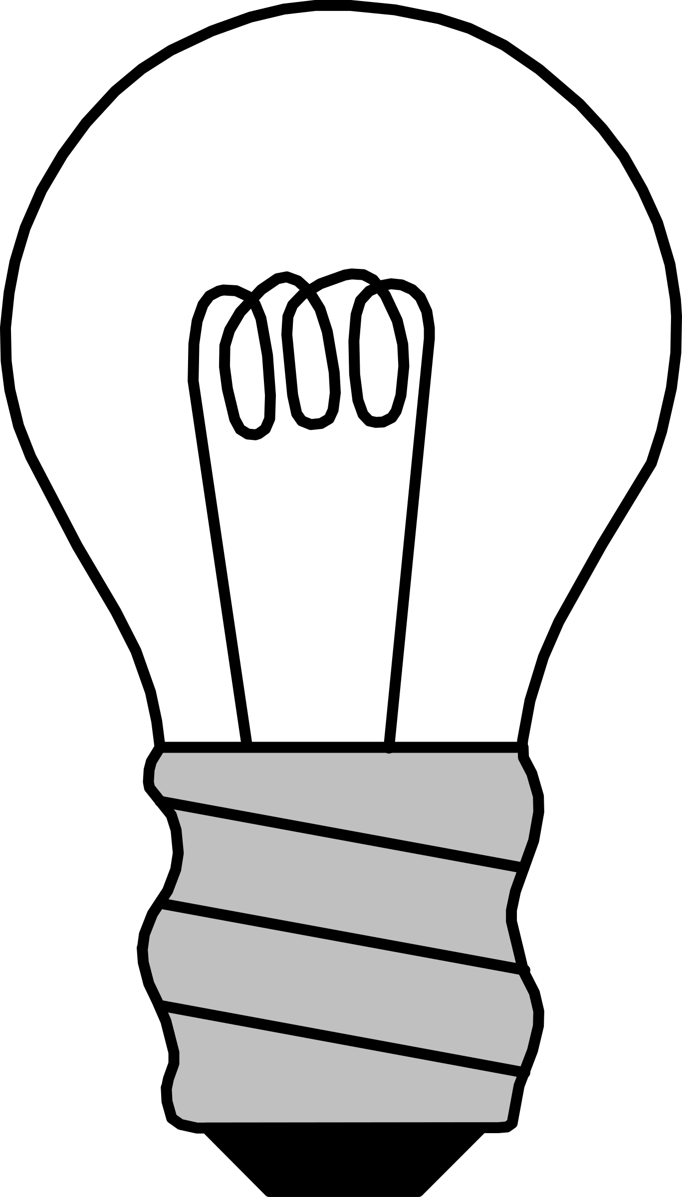 Light Bulb Off By Palomaironique