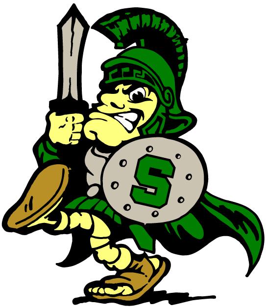 Michigan State Spartans Mascot Logo   Ncaa Division I  I M   Ncaa I M