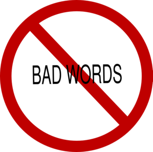 No Bad Words Clip Art At Clker Com   Vector Clip Art Online Royalty