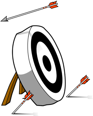 Off Target Clipart
