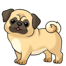 Pug Clipart   Clipart Panda   Free Clipart Images