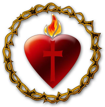 There Is 53 Heart Of Mary Free Cliparts All Used For Free