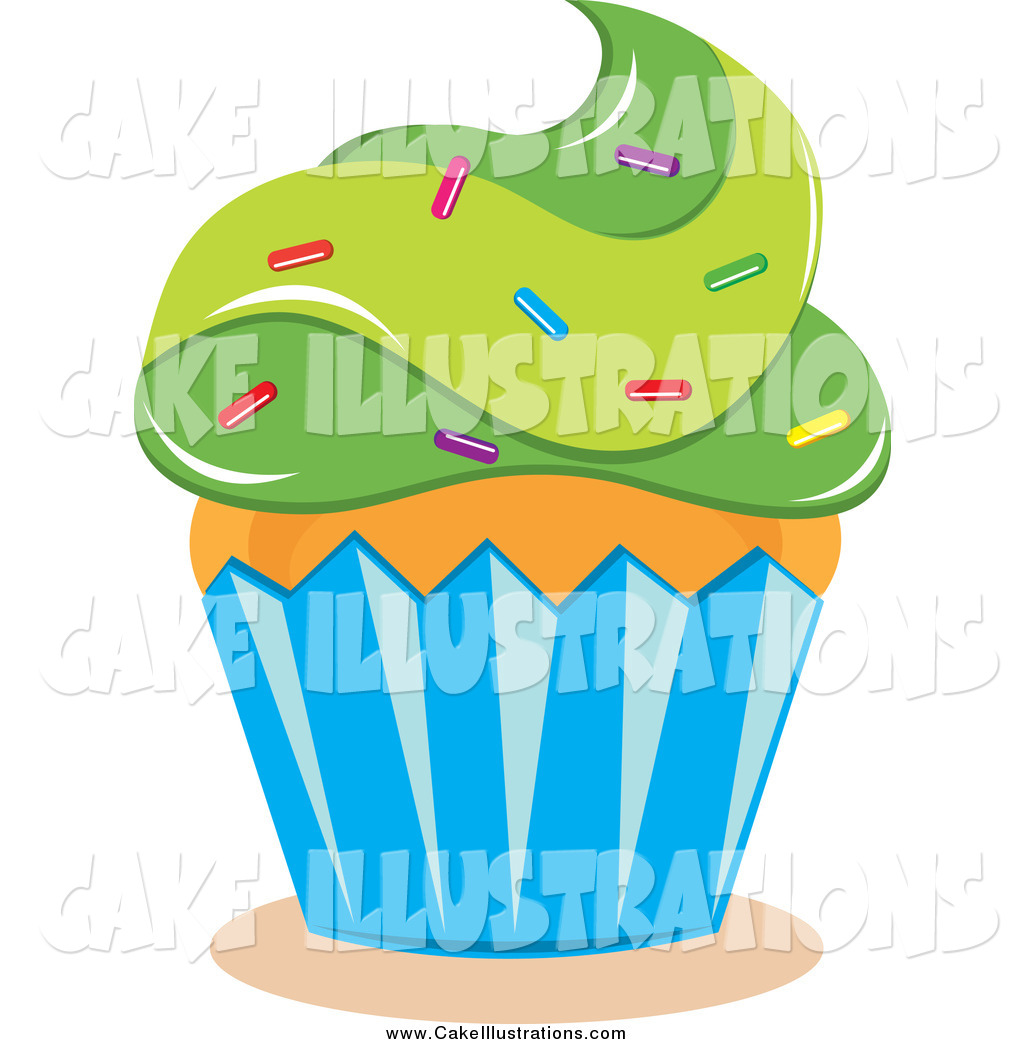 5th Birthday Cupcake Clipart