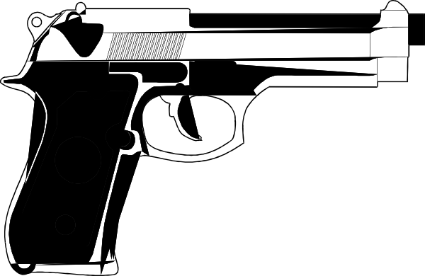 9mm Hand Gun Tattoo Clip Art At Clker Com   Vector Clip Art Online