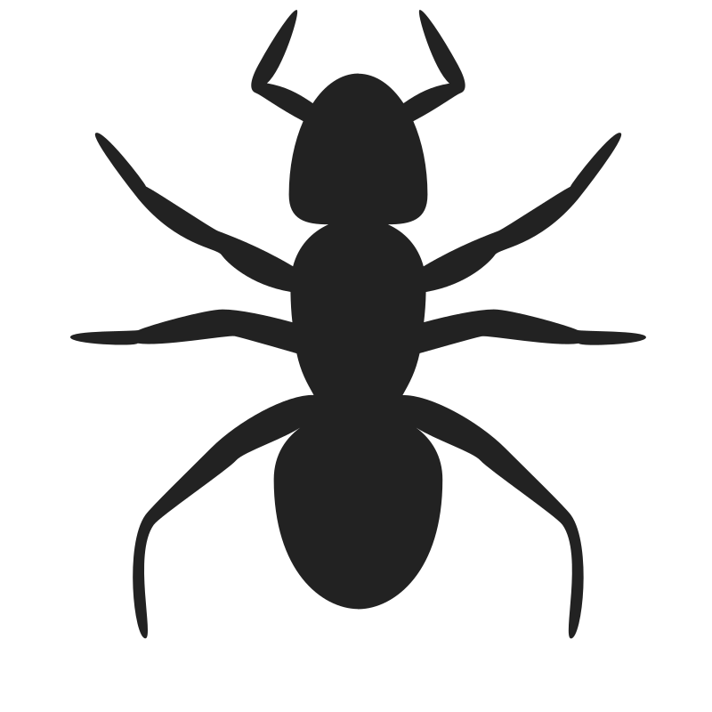 Ant Icon By Rejon   This Is A Lame Flat Version Of Andy S Ant Ready