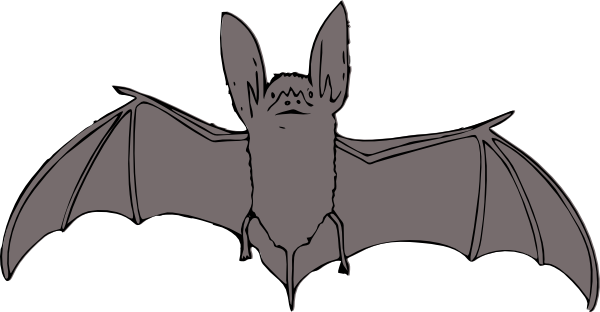 Bat Clip Art At Clker Com   Vector Clip Art Online Royalty Free