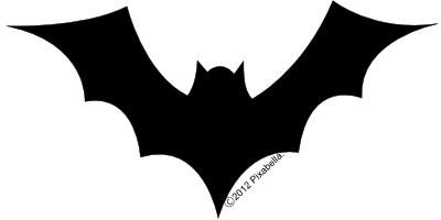 Bat Clipart Black And White   Clipart Panda   Free Clipart Images