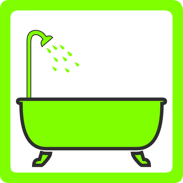 shower and bathtub clipart clipart suggest. Black Bedroom Furniture Sets. Home Design Ideas
