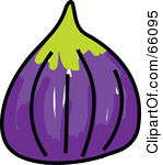 Fig Clipart 66095 Royalty Free Rf Clipart Illustration Of A Sketched