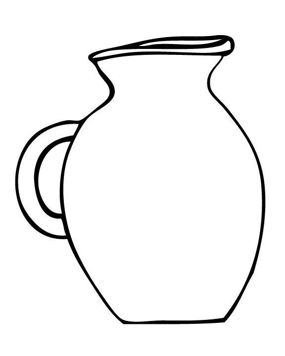 Folioglyphs  Earthenware Jug