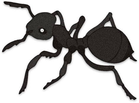Free Ant Clipart   Black   Leaf Cutter