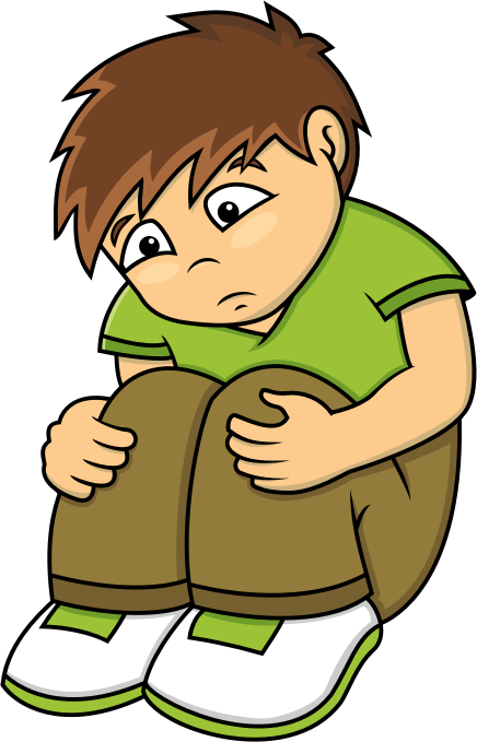 Sad Clipart - Clipart Kid Black And White Emoticons Kid Clipart Png
