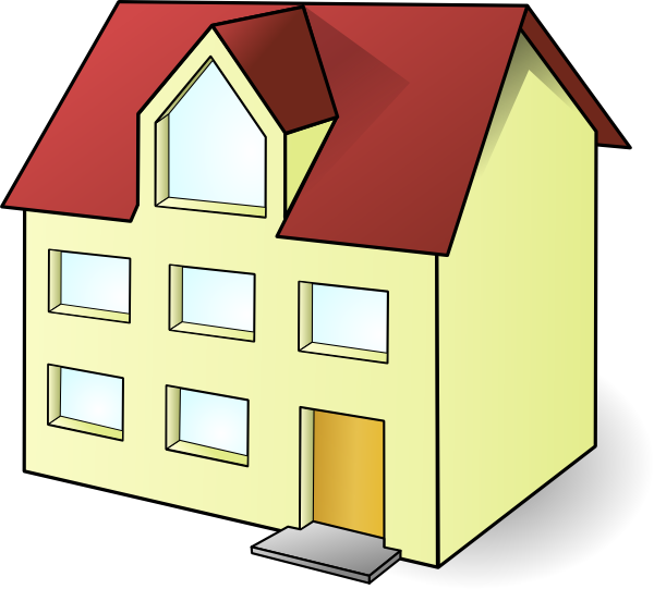 House 17 Clip Art At Clker Com   Vector Clip Art Online Royalty Free