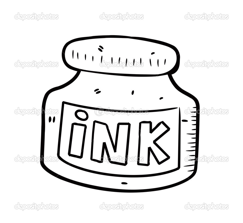 Ink Bottle   Stock Vector   Mhatzapa  10539290
