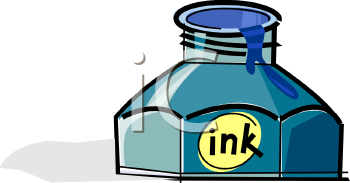 Ink Clipart 0511 1001 2709 3945 Bottle Of Blue Ink Clipart Image Jpg