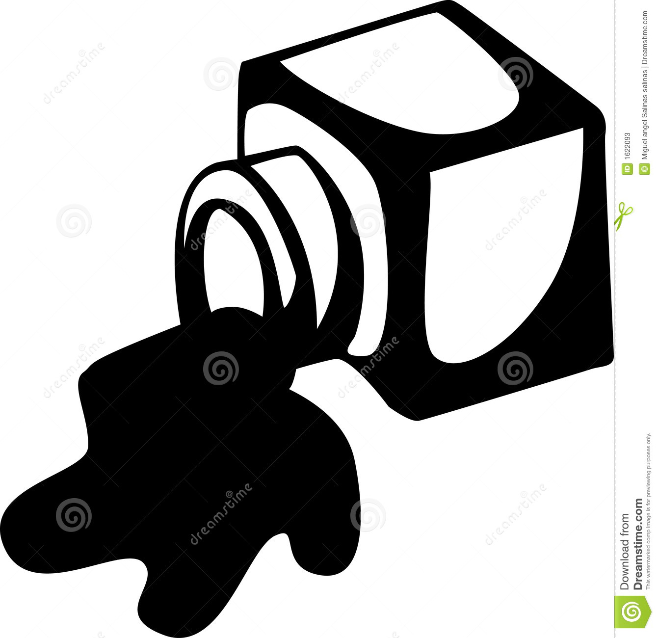 Ink Clipart Black And White Black And White Illustration
