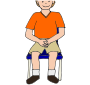 Lap Picture For Classroom   Therapy Use   Great Hands In Lap Clipart