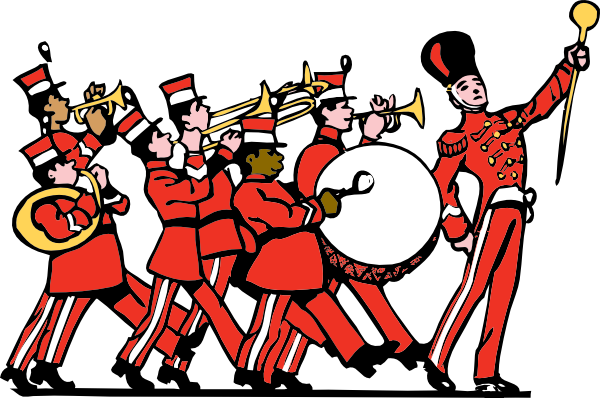 Marching Band Clip Art At Clker Com   Vector Clip Art Online Royalty