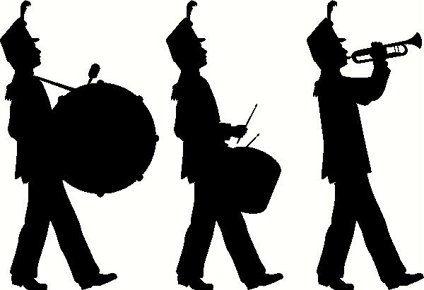 Marching Band Vinyl Decal   Music Vinyl Decals