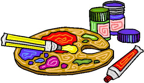Paint Supplies Clipart - Clipart Kid