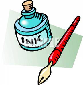Pen And Ink   Royalty Free Clipart Picture