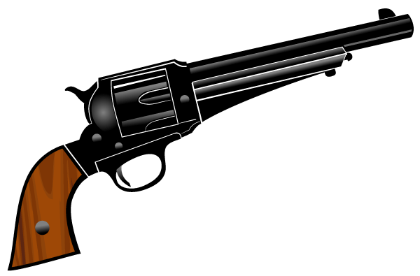 Gun Pistol Vector Clipart - Clipart Suggest