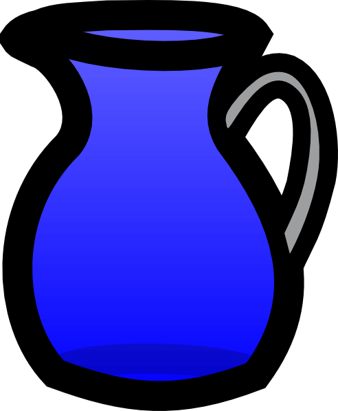Pitcher Of Water Clip Art At Clker Com   Vector Clip Art Online