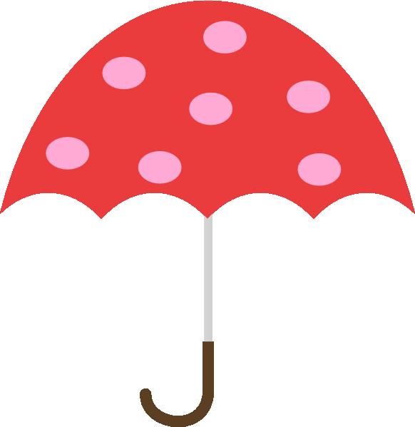 Clip Art Clipart Umbrella free umbrella clipart kid polka dot clip art at clker com vector online