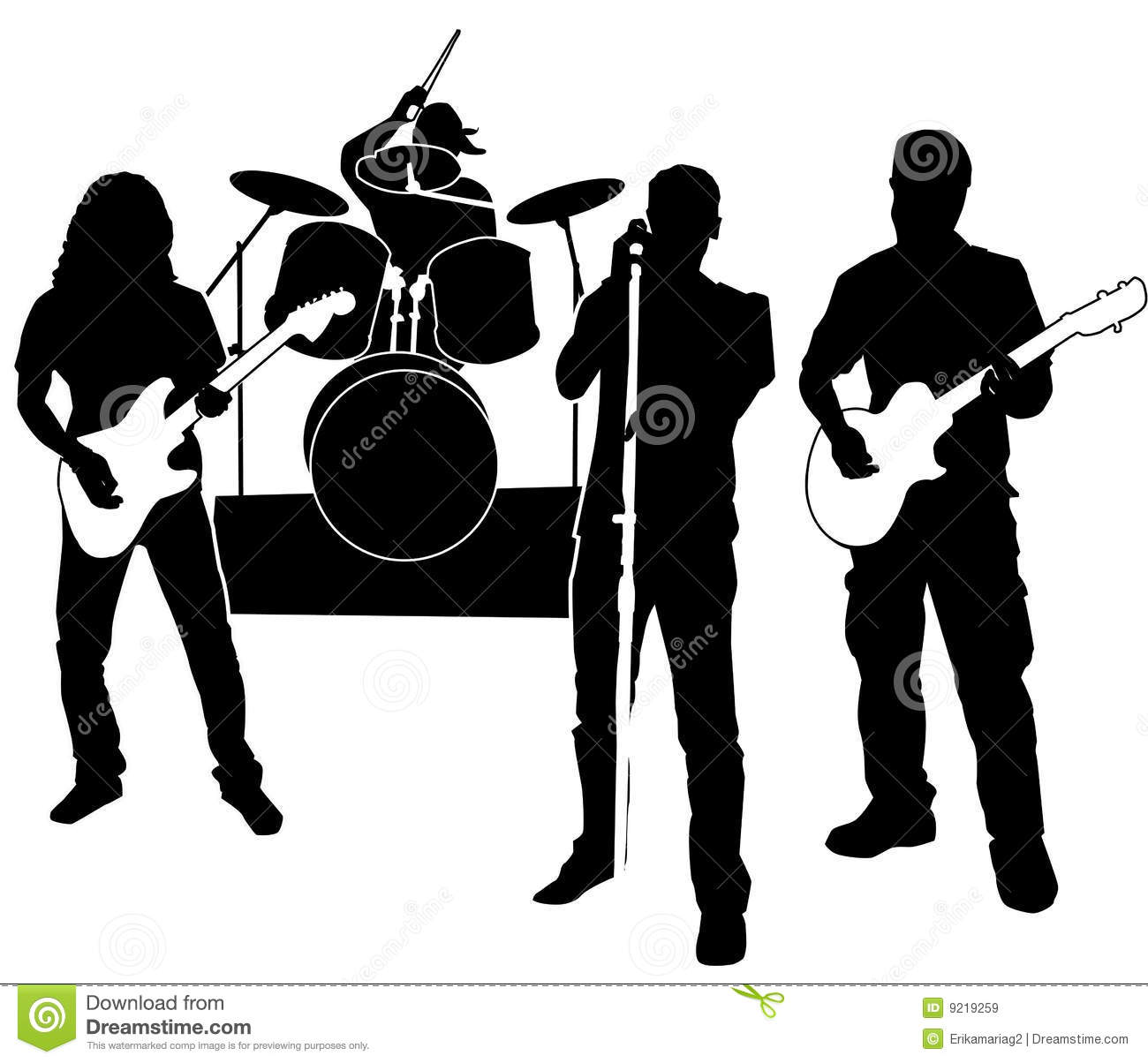 Free Band Music Clipart - Clipart Kid
