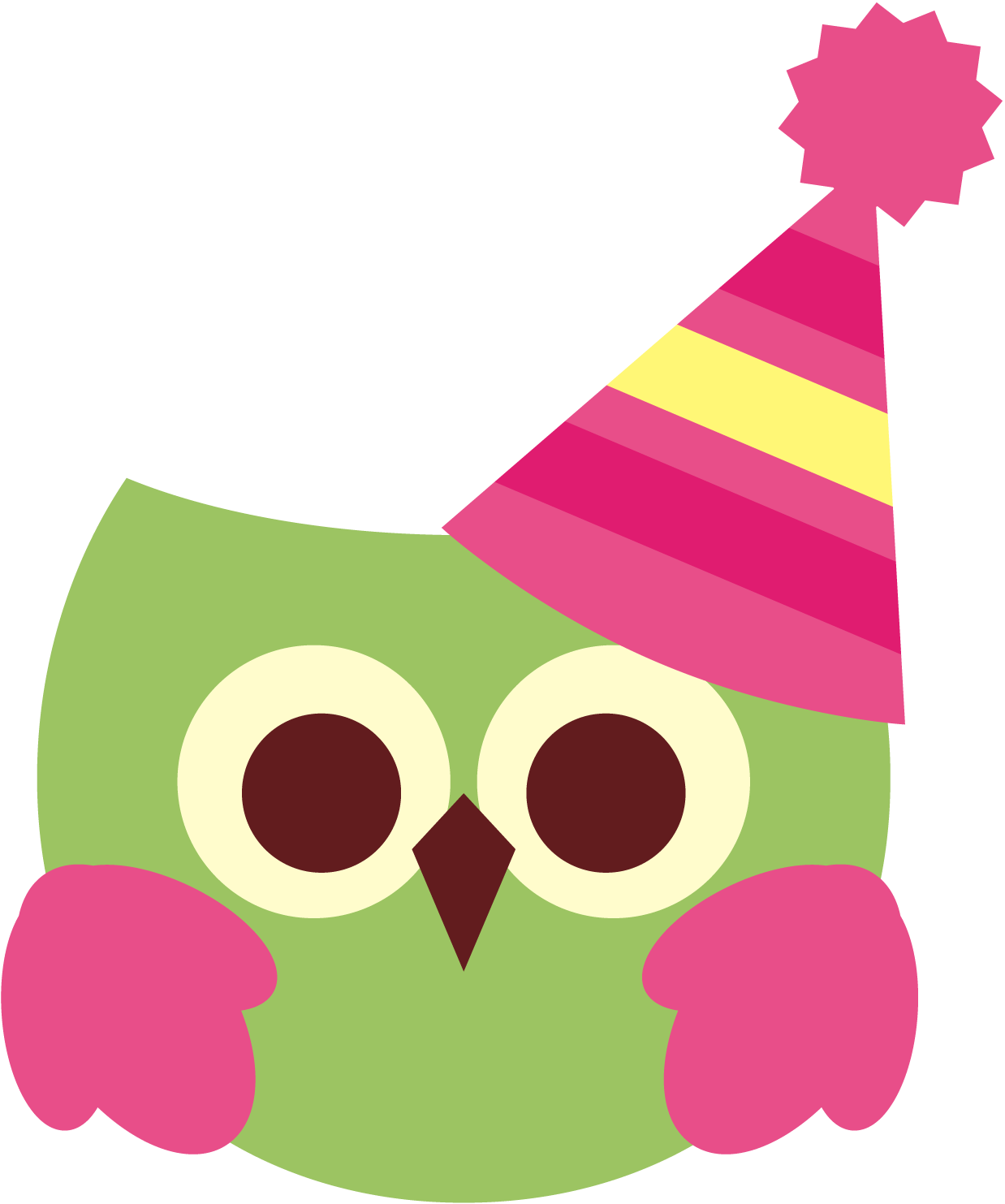 So I Ll Share This Cute Birthday Owl Clipart Graphic For Free Enjoy