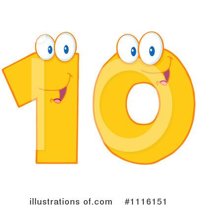 Number Ten Clipart - Clipart Kid