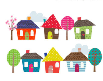 New House Clipart - Clipart Kid
