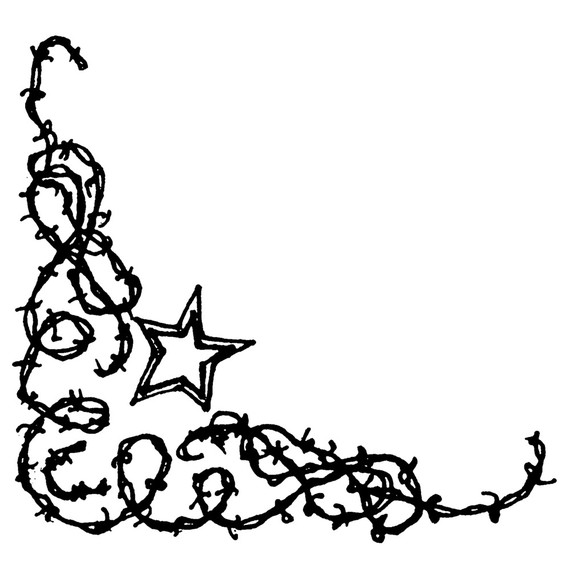 Barb Wire Border   Clipart Best