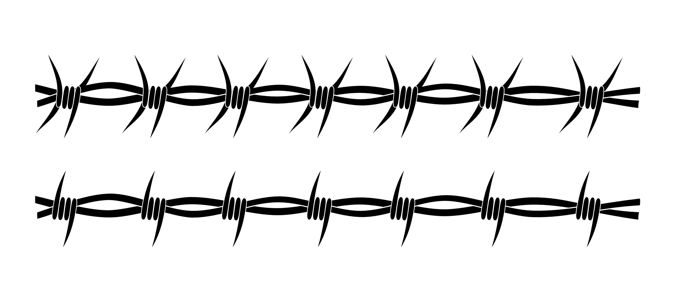 barbed wire circle clipart