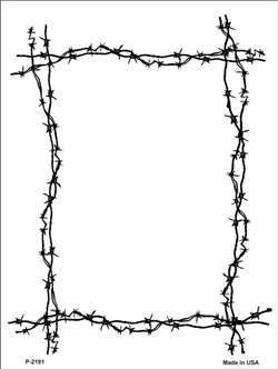 Barbed Wire Borders   Clipart Best