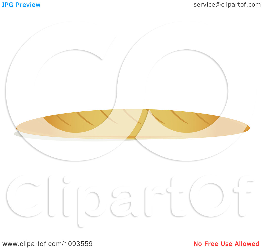 clipart loaf of bread royalty free vector illustration by randomway