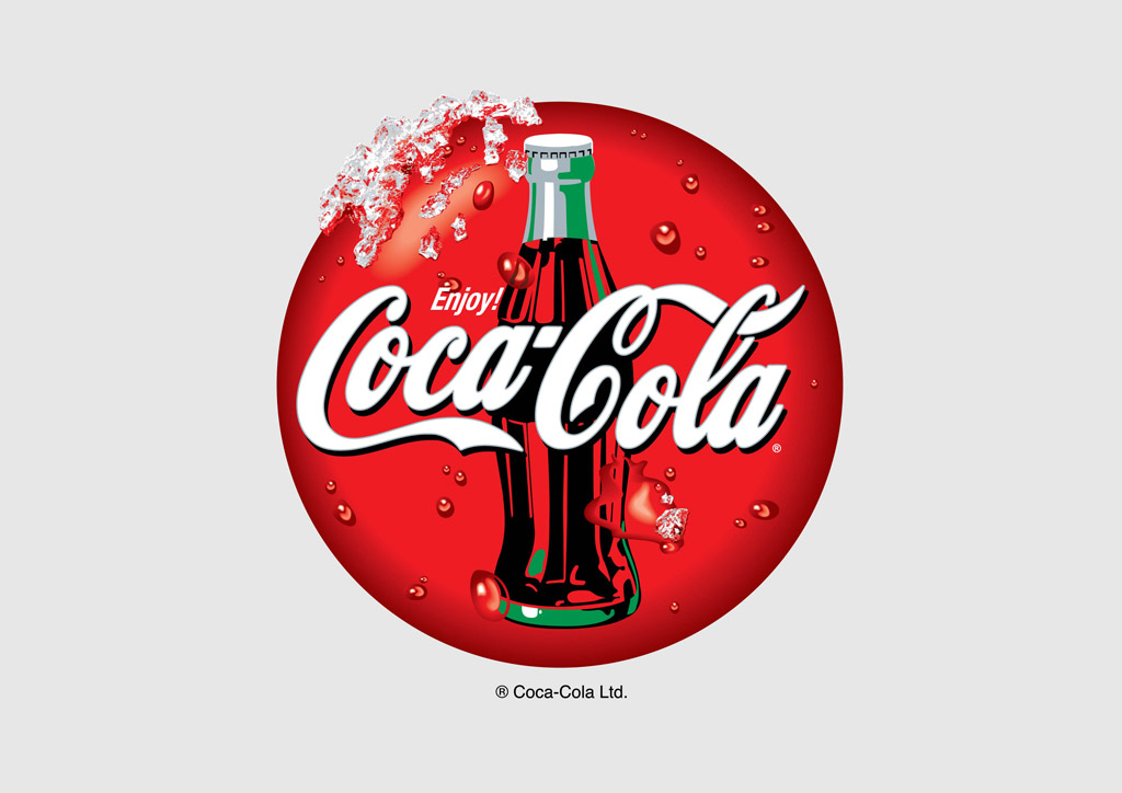 Coca Cola Vector Icon