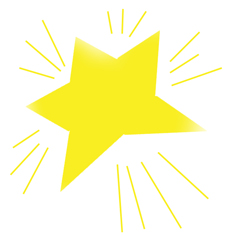 Shining Star Clipart - Clipart Kid