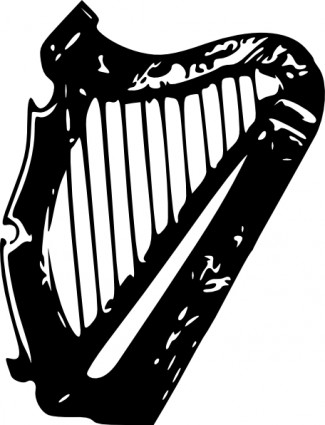 Harp Clip Art Free Vector In Open Office Drawing Svg    Svg   Format