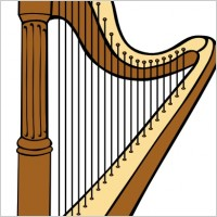 Harp Clip Art Vector Clip Art Free Vector For Free Download