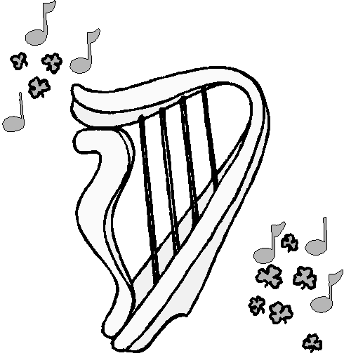 Harp   Http   Www Wpclipart Com Holiday Saint Patricks Day Harp Png