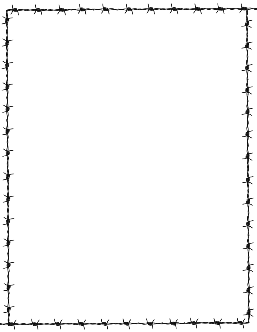 Information Barb Wire Clip Art Border Free