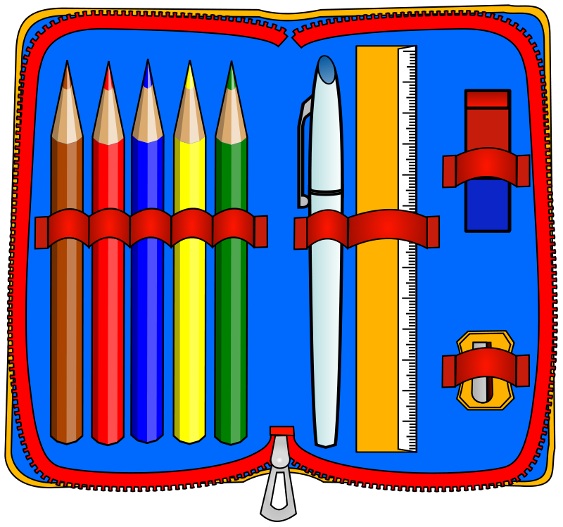 Pencil Case Clipart Cup Royalty Free Clip Pictures